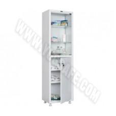 Медицинский шкаф одностворчатый HILFE MED 1 1657/SG