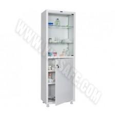 Медицинский шкаф одностворчатый HILFE MED 1 1760/SG
