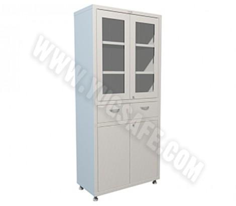 Медицинский шкаф двухстворчатый HILFE МД 2 1780 R-1